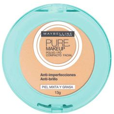 Maybelline Pure Makeup - Pó Compacto 13g - Beleza na Web