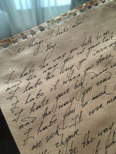 Handwriting Examples, Handwriting Styles, Calligraphy Handwriting, Penmanship, Diary Writing, Calligraphy Words, Beautiful Handwriting, Pretty Notes, Journal Aesthetic