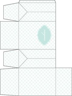 Gable Box Template for Cookie Favors   Flickr - Photo Sharing!