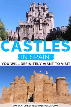 Do you like visiting castles in Europe? - Check this list of my favorite dreamy Spanish castles and get ready to channel your inner royalty! Malta, Monaco, Spanish Queen, Alcazar Seville, Spain Travel Guide, European Travel Tips, Fairytale Castle, Beautiful Castles, Medieval Town