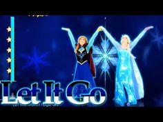 Just Dance 2015 | Disney's Frozen - Let It Go \ Gameplay 5 Stars ★ - YouTube
