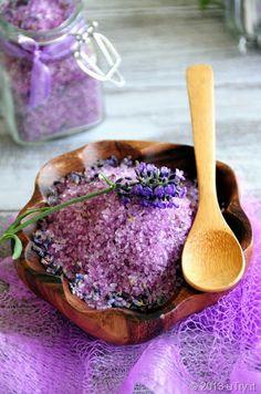 Homemade lavendar bath salts --- aaahhh!