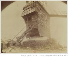 Montmartre - Moulin de la Galette, R. Paris 1900, Old Paris, Vintage Paris, Paris France, Montmartre Paris, Old Pictures, Old Photos, Eugene Atget, Getty Museum