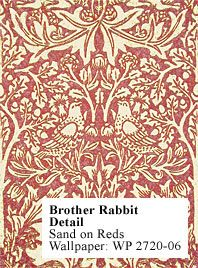 Historic Style - Brother Rabbit, by William Morris