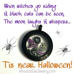 Origami Owl limited edition Halloween charms for your living locketwww.pattiecake6.origamiowl.com