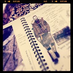 .@standeviationco (Myko) 's Instagram photos - #sketchbook #notes #design #fashion #menswear