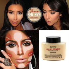 Ben Nye Banana Luxury Powder Kim Kardashian 1.5 oz Brushes Foundation Concealer. Starting at $8