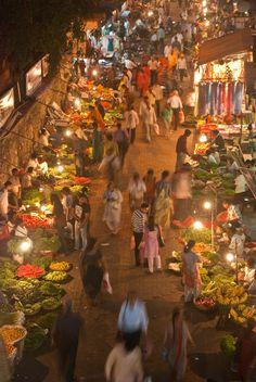 Night Market in India