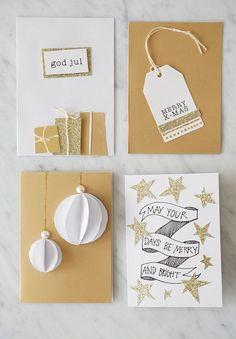 Lahjapaketointia ja joulukortteja | Start living your best life