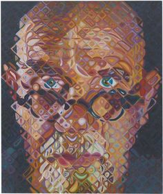 Find the latest shows, biography, and artworks for sale by Chuck Close. Chuck Close reinvented painting with his monumental portraits, rendered with exquisit… Chuck Close Art, Chuck Close Portraits, Chuck Close Paintings, Manet, Photorealism, Renoir, Les Oeuvres, Painting & Drawing, Painting Tips
