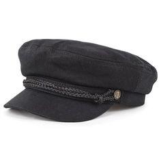 9b748e45bf4 Brixton Hats Fiddler Cap - Black