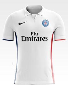 I designed football kits for Paris Saint - Germain for the upcoming season 17/18.