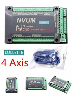 [Visit to Buy] NVUM 4 Axis CNC Controller MACH3 USB Interface Board Card 200KHz for Stepper Motor #Advertisement
