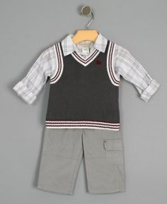 dd154a3be1e A dressy little outfit for  baby! Shirt