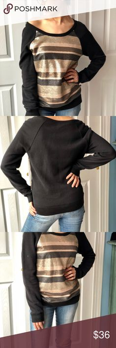 Victoria's Secret Black Sequin Sweatshirt Sz S This is a sexy slouchy Victoria secret sweatshirt with gorgeous sequins in EUC! Perfect weekend sweatshirt for running errands in style. Offers welcome, trying to clear out my closet before a big move 😊 Victoria's Secret Tops