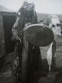 Shaman, Buryats, 1923