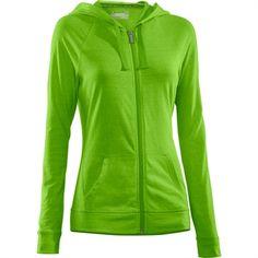 Green underarmour hoodie