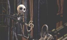 Jack Skellington the Pumpkin King from The Nightmare Before Christmas Gif Spooky Scary, Creepy, Tim Burton Personajes, Film Tim Burton, Disneyland, Arte Punk, Sally Skellington, Christmas Drawing, Halloween Wallpaper