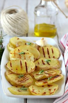 Mediterranean Recipes, Light Recipes, Gnocchi, Italian Recipes, Good Food, Food And Drink, Potatoes, Healthy Recipes, Dishes