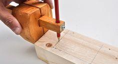 Realizzare un truschino fai da te è essenziale per realizzare tenoni, mortase, incastri a mezzo legno, battute, tracciature distanti dai bordi.