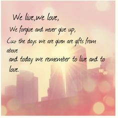 """""""We live"""" by Superchick"""