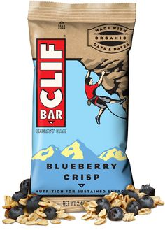 Clif Bar - Clif Bar - Blueberry Crisp... my FAVE!
