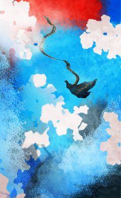 Silently Falling - Journey fan art