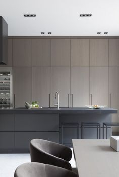Cabinetry - style + integrated recessed handle option.
