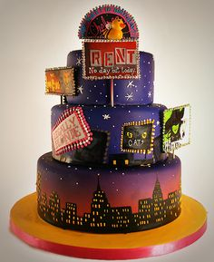 Can someone please make me this cake? I would love them forever besides it made my wish come true instead of pink ;)