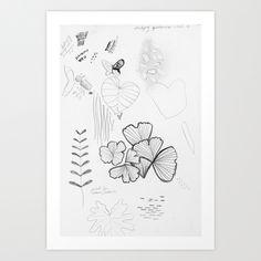 Patterns in Nature Art Print by Karina Love   Society6