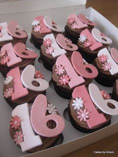 Sweet 16 Cupcakes Sweet 16 cupcakes Sweet 16 and Teal
