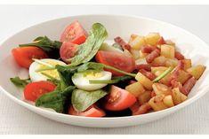 Kijk wat een lekker recept ik heb gevonden op Allerhande! Spinaziesalade met spekjes en aardappel