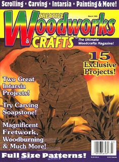 Creative Woodworks & Crafts - March 1999