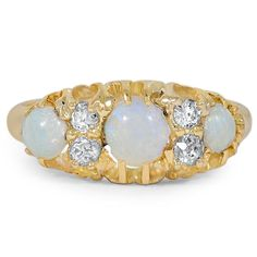 The Obdulia Ring, look at how cool this vintage look is! The Victorian Era was so beautiful!