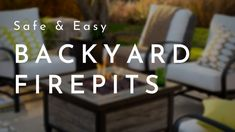 Safe & Easy Backyard Fire Pits | Home Channel TV Outdoor Living Areas, Living Spaces, Washing Machine Drum, Home Channel, How To Build A Fire Pit, Concrete Pavers, Romantic Moments, Fire Pit Backyard, Under The Stars