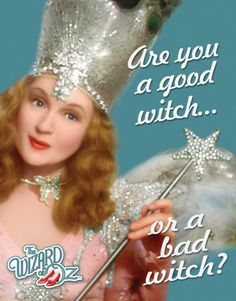 Glenda the Good Witch - Billie Burke, who - in real life was the wife of Florenz Zeigfield - Broadway's leading impressario.