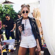 MY FAVORITE LOOKS FROM COACHELLA 2016 | Queen of Jet Lags