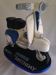 Lambretta scooter cake x