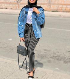 Fashion summer college shoes 37 new Ideas Modern Hijab Fashion, Street Hijab Fashion, Hijab Fashion Inspiration, Muslim Fashion, Modest Fashion, Stylish Hijab, Casual Hijab Outfit, Hijab Style, Hijab Chic