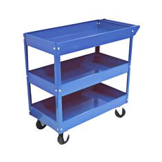 Excel Metal Tool Cart with 3 Trays | Wayfair.  This would make such a fun bar cart.