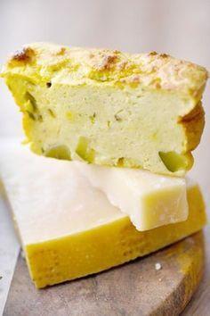 Gâteau magique à la courgette et au parmesan
