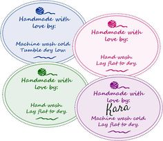 Free Printable Gift Tags for Your Handmade Gifts - Petals to Picots