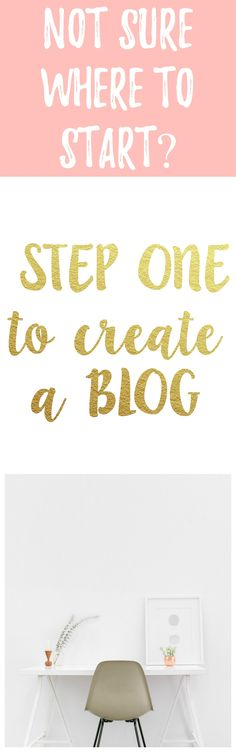 How to start a blog. Easy and fast way to start a blog. How to blog.