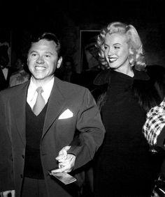 Mickey Rooney & Marilyn Monroe