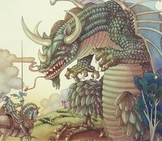 Leo and Diane Dillon Knight and Dragon