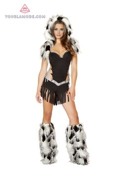 roxanni 4469 native american hottie costume by roma halloween costumes