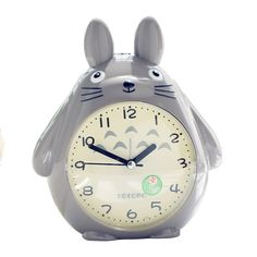 "Universe of goods - Buy ""Totoro Quartz Table Clock Modern Timer Snooze Alarm Clock pokemon LED Light Mute Silent Beside clock Home Children Alarm Clock"" for only USD."