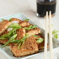 Sesame-Crusted Tofu