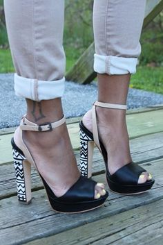 The heel is to die for!