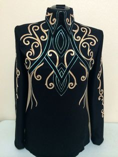 DIY horsemanship top by Tandy Jo show apparel